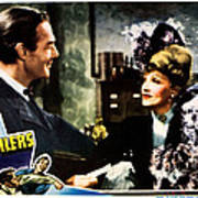 The Spoilers, From Left Randolph Scott Poster by Everett