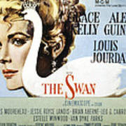 The Swan, Grace Kelly, 1956 Poster by Everett