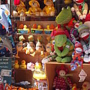 The Toy Store Poster by Cathy Curreri
