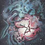 The Trifid Nebula Poster by Patsy Sharpe