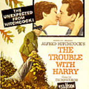 The Trouble With Harry, Shirley Poster by Everett