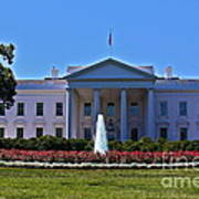 The White House - No. 0341  Poster by Joe Finney