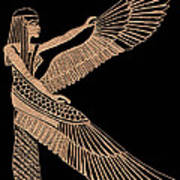The Winged Isis Poster by Jim Ross