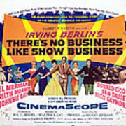 Theres No Business Like Show Business Poster by Everett