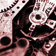 Time Mechanisms Poster by David Cucalon