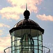 Top Of Bonita Lighthouse Poster by Kathleen Struckle