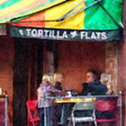 Tortilla Flats Greenwich Village Poster by Susan Savad