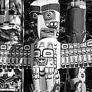 Totems Poster by Chris Dutton