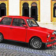 Trabant Ostalgie Poster by Christine Till