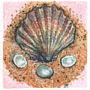 Treasure Of The Sea Poster by Sabrina Khan