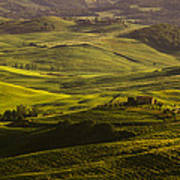 Tuscan Hills Poster by Andrew Soundarajan