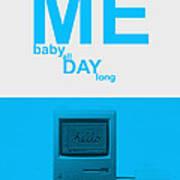 Tweet Me Baby All Night Long Poster by Naxart Studio
