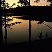 Twilight Over Walden Pond, Made Famous Poster by Tim Laman