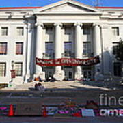 Uc Berkeley . Sproul Hall . Sproul Plaza . Occupy Uc Berkeley . 7d10017 Poster by Wingsdomain Art and Photography