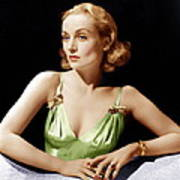 Vigil In The Night, Carole Lombard, 1940 Poster by Everett