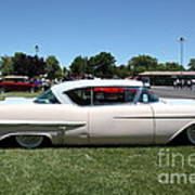Vintage 1957 Cadillac . 5d16686 Poster by Wingsdomain Art and Photography