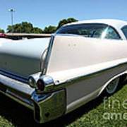 Vintage 1957 Cadillac . 5d16688 Poster by Wingsdomain Art and Photography