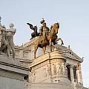 Vittoriano. Monument To Victor Emmanuel II. Rome Poster by Bernard Jaubert