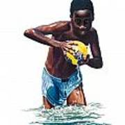 Water Game Poster by Gregory Jules