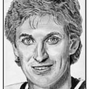 Wayne Gretzky In 1992 Poster by J McCombie