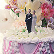 Wedding Cake Poster by Garry Gay