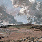 Weymouth Bay With Jordan Hill Poster by John Constable