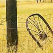 Wheel Looking For A Tractor Poster by Rich Franco