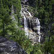 Whitewater Falls Poster by Rob Travis