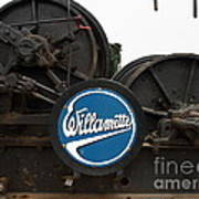 Willamette Steam Engine 7d15104 Poster by Wingsdomain Art and Photography