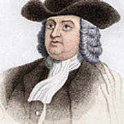 William Penn, English Coloniser Poster by Sheila Terry