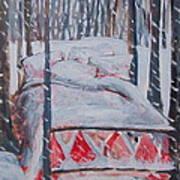 Winter Hybernation Poster by Tilly Strauss