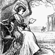 Woman Reading, 1876 Poster by Granger