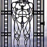 Wrought Iron Gate Poster by Steve Harrington