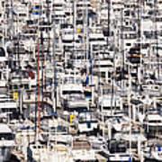 Yacht Marina Poster by Jeremy Woodhouse