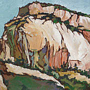 Zion National Park Poster by Sandy Tracey