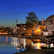 Boathouse Row  Poster by John Greim