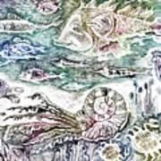 Sea World Poster by Milen Litchkov