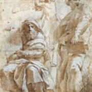 Raphael: Study, C1510 Poster by Granger