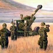 1-190th Artillery Poster by Scott Robertson
