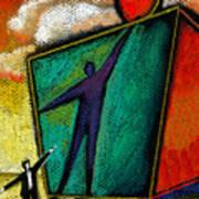 Ambition Poster by Leon Zernitsky