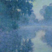 Branch Of The Seine Near Giverny Poster by Claude Monet