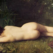 Byblis Turning Into A Spring Poster by Jean-Jacques Henner