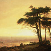 California Coast Poster by Albert Bierstadt