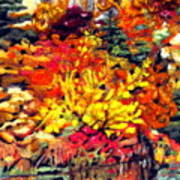 Detail Of Fall Poster by Kimberly Simon