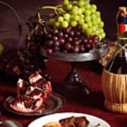 Festive Dinner Still Life Poster by Oleksiy Maksymenko