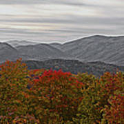 Infinite Smoky Mountains Poster by DigiArt Diaries by Vicky B Fuller