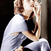 Katharine Hepburn, Ca. 1930s Poster by Everett