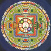 Mandala Of Avalokiteshvara           Poster by Carmen Mensink