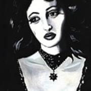 Monica Poster by Scarlett Royal