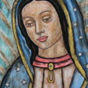 Our Lady Of Guadalupe Poster by Rain Ririn